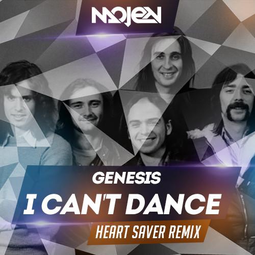 genesis i can 39 t dance heart saver remix mojen music. Black Bedroom Furniture Sets. Home Design Ideas