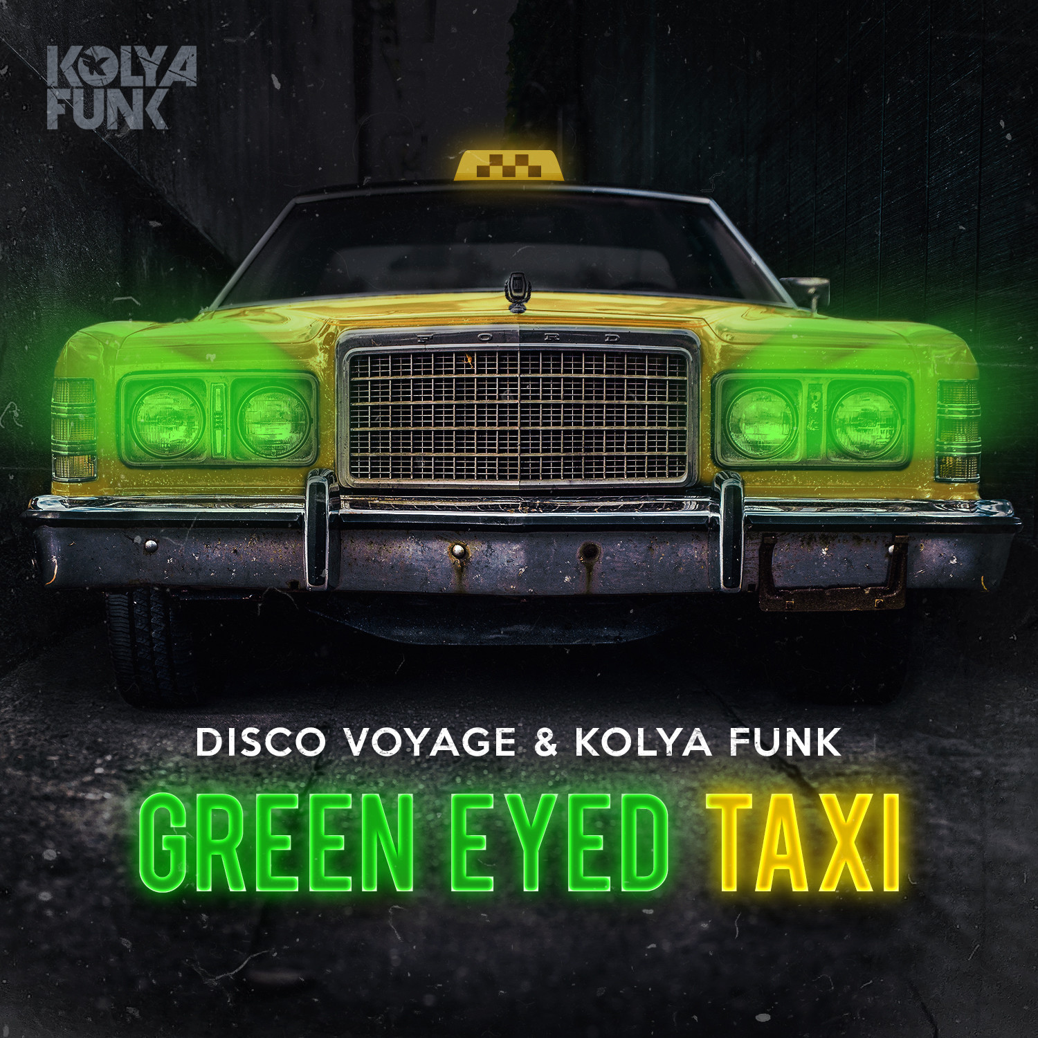 Disco Voyage & Kolya Funk - Green Eyed Taxi (Club Mix)