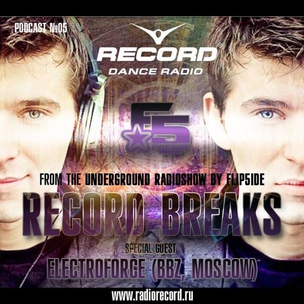 ElectroForce - From The Underground Radioshow (Radio Record Breaks) (13.02.15)