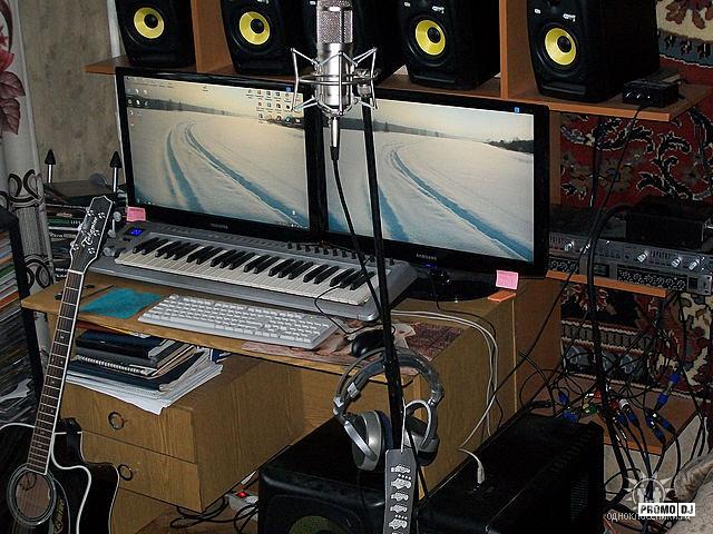 Как записать свою музыку на компьютер в домашних условиях