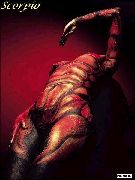 Скорпион не торопитесь с сексом