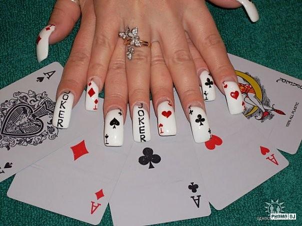 Фото дизайн ногтей с именем
