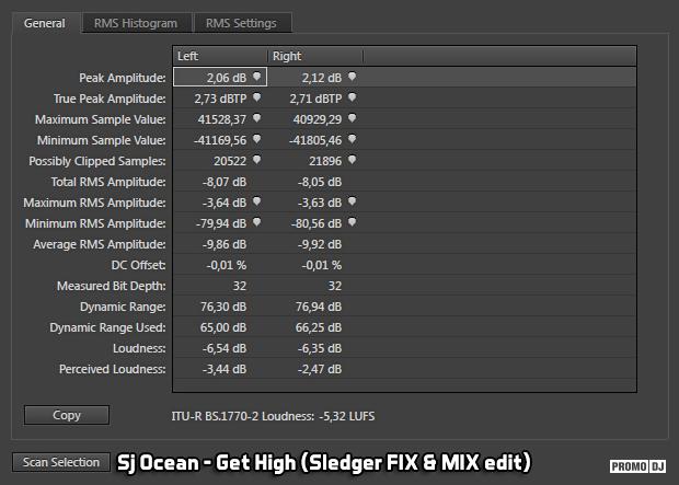 af03337f47d Sj Ocean - Get High (Sledger FIX   MIX edit)   CoolRockBassBlock