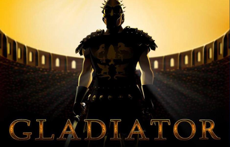 Gladiator slot machine