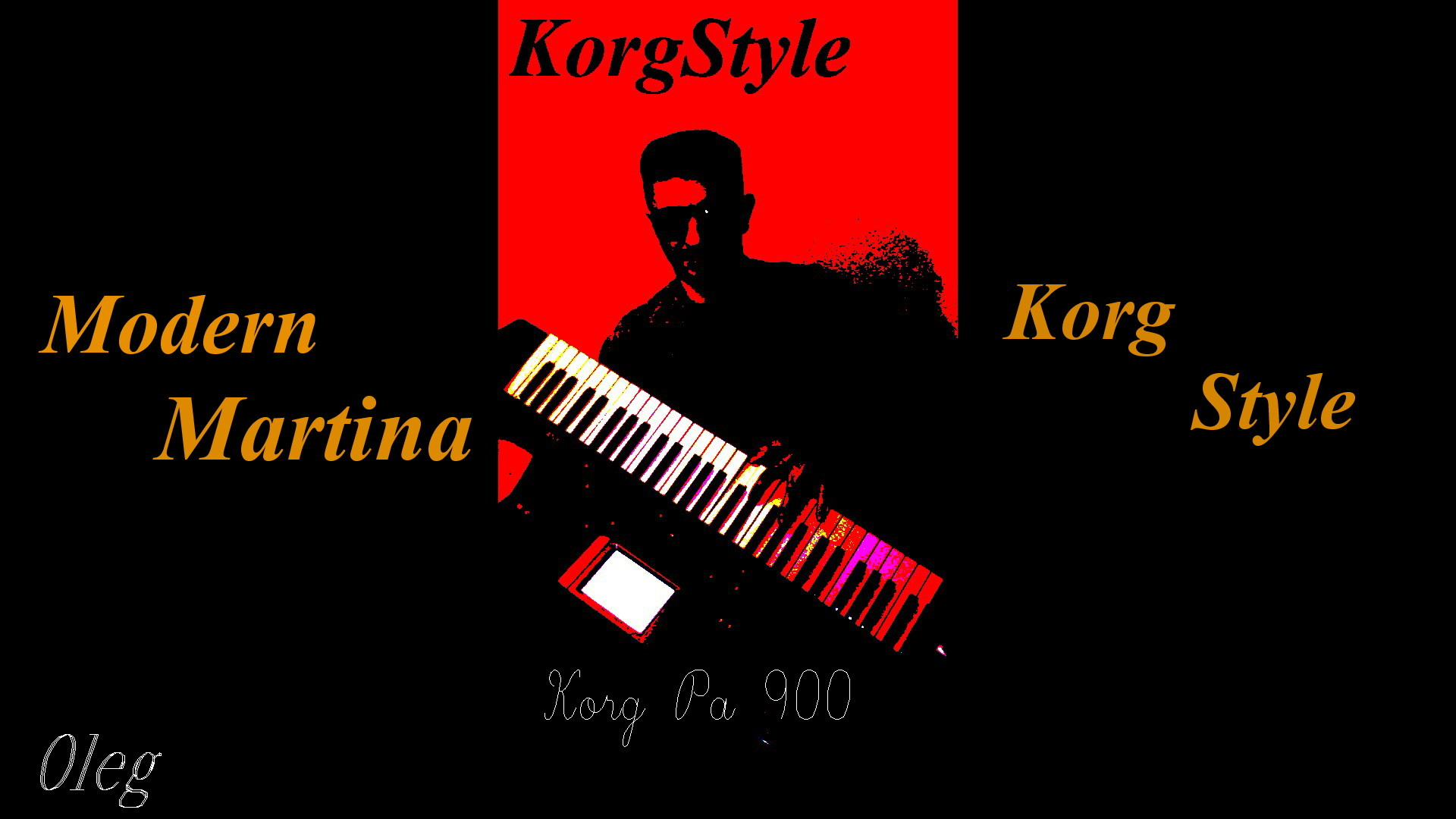 KorgStyle & M Martina-Ветер осенний (Korg Pa 900) EuroDisco