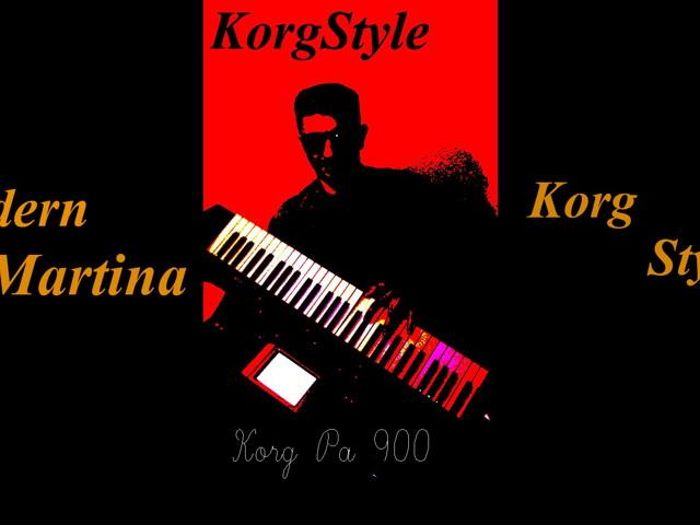 KorgStyle & M Martina-Ветер осенний (Korg Pa 900) EuroDisco Mix