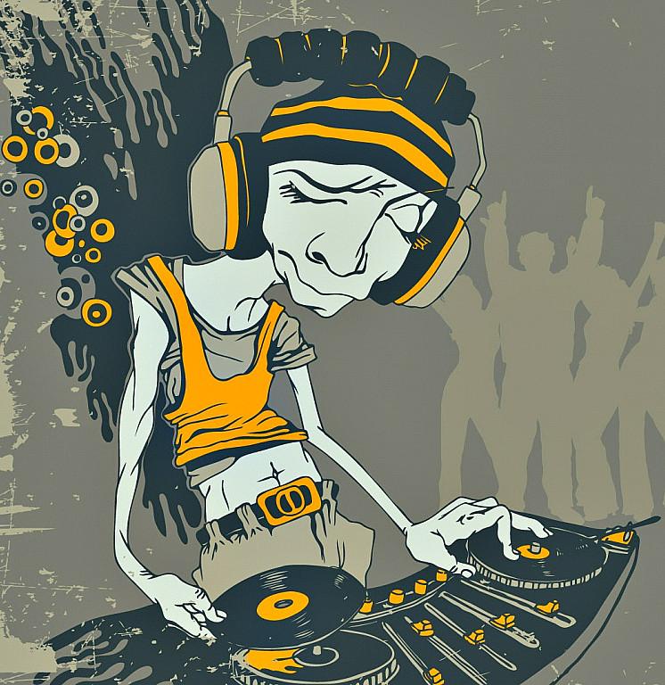 DJ Cute Cat