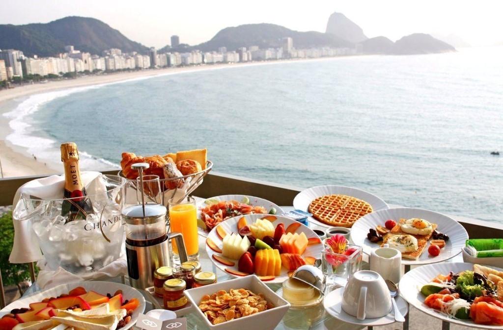 Теме рождество, картинки завтрак у моря на двоих