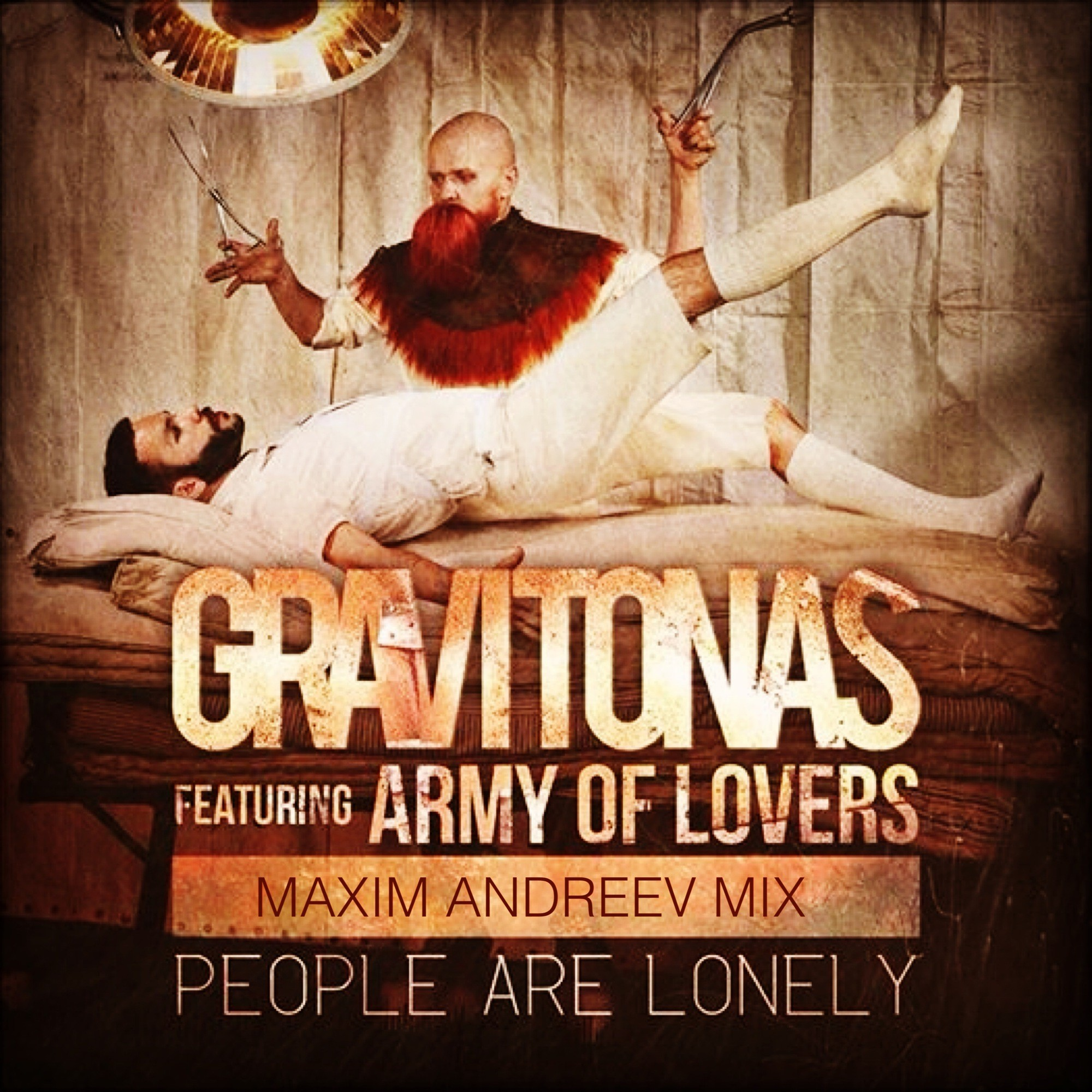 Gravitonas feat. Army Of Lovers - People Are Lonely (Radio ...