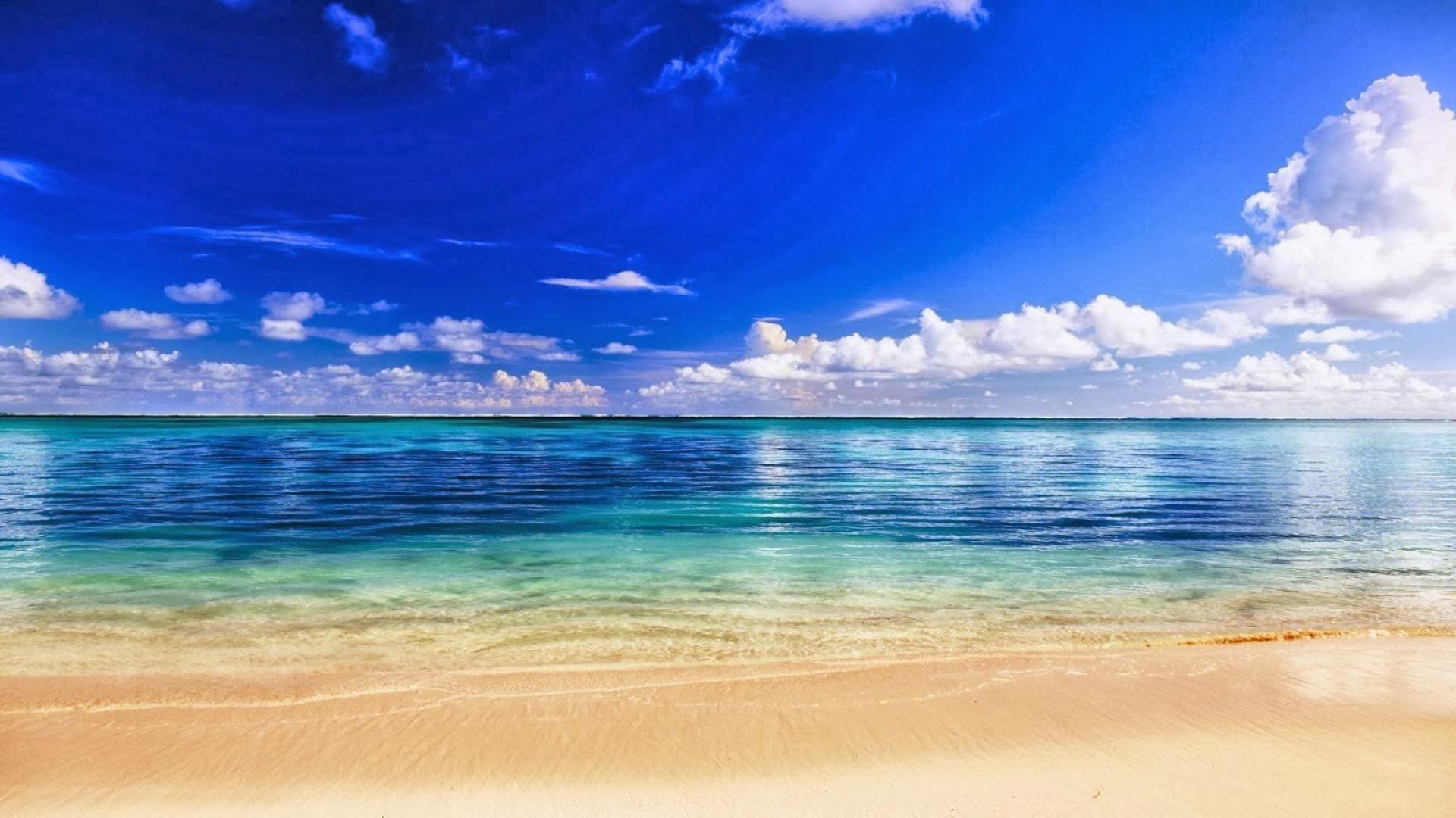 Открытки море небо