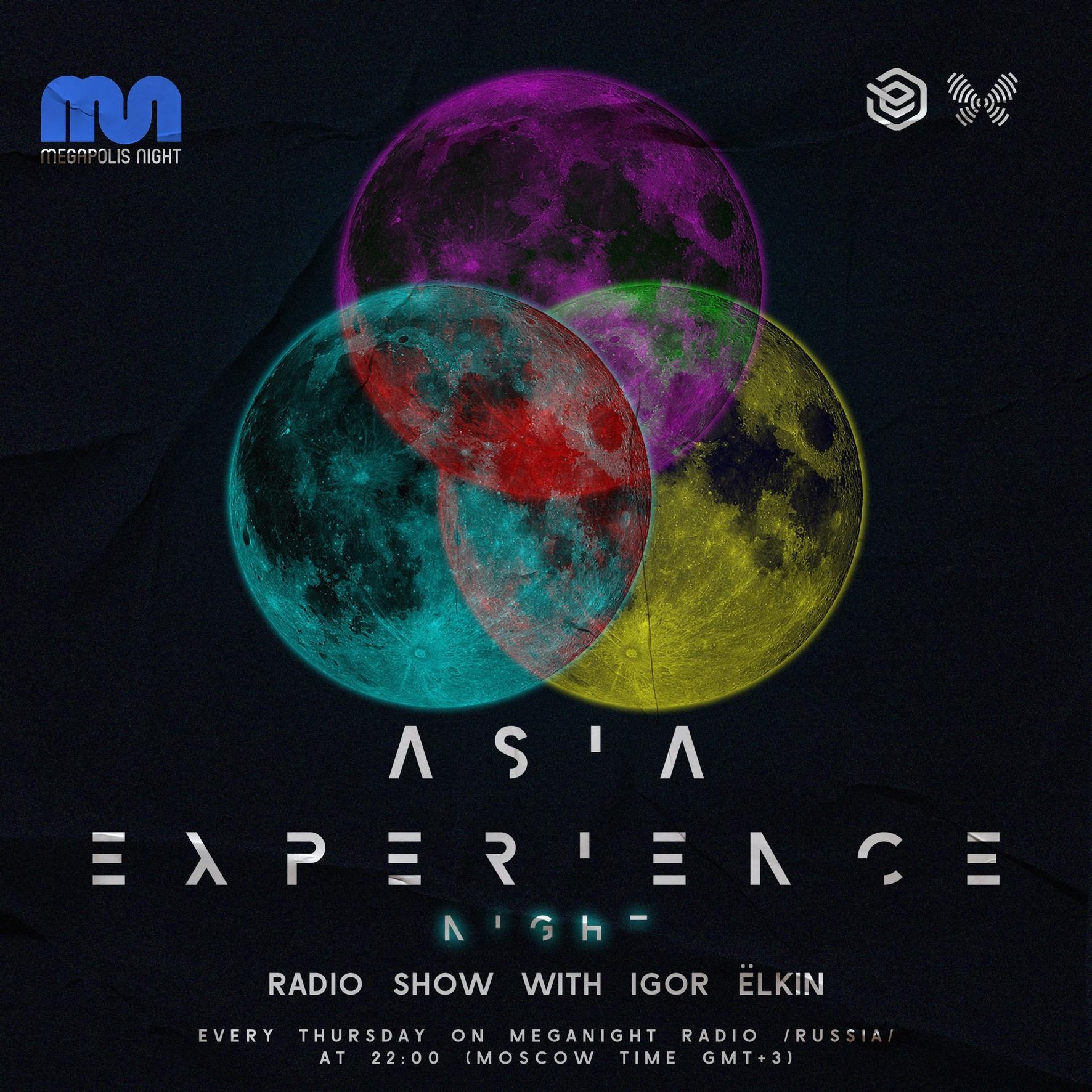 Elkin - Asia Experience Night  Radio Show #048 @ Megapolis Night  29.04.2021 #48