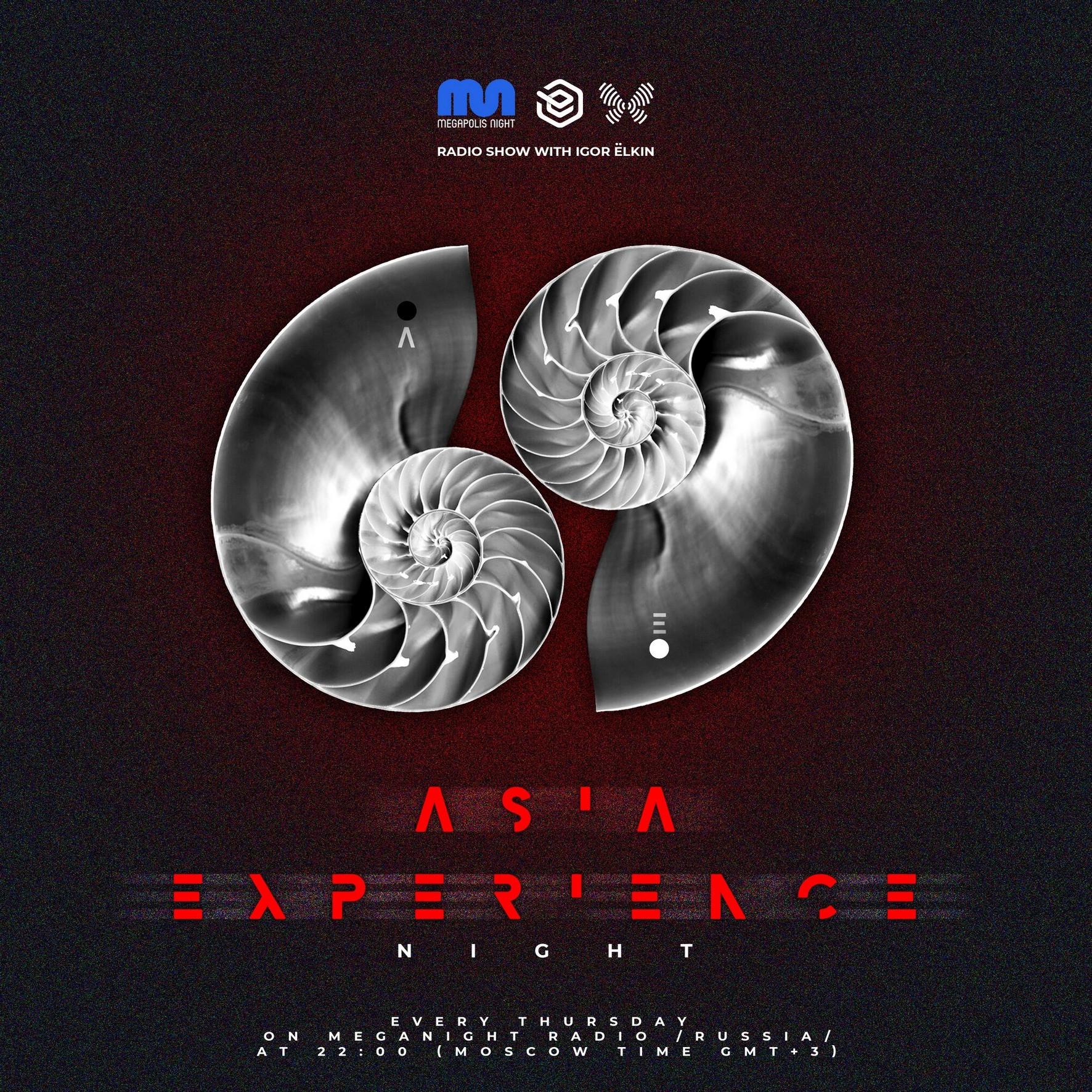 Elkin & Masha Fox- Asia Experience Night  Radio Show #053 @ Megapolis Night  17.06.2021 #53
