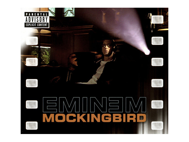 mockingbird eminem Eminem - mockingbird the video of mockingbird features eminem, sitting in what appears to be his house during hailie's childhood years he's sitting in the basement of the house, watching different childhood home videos of.