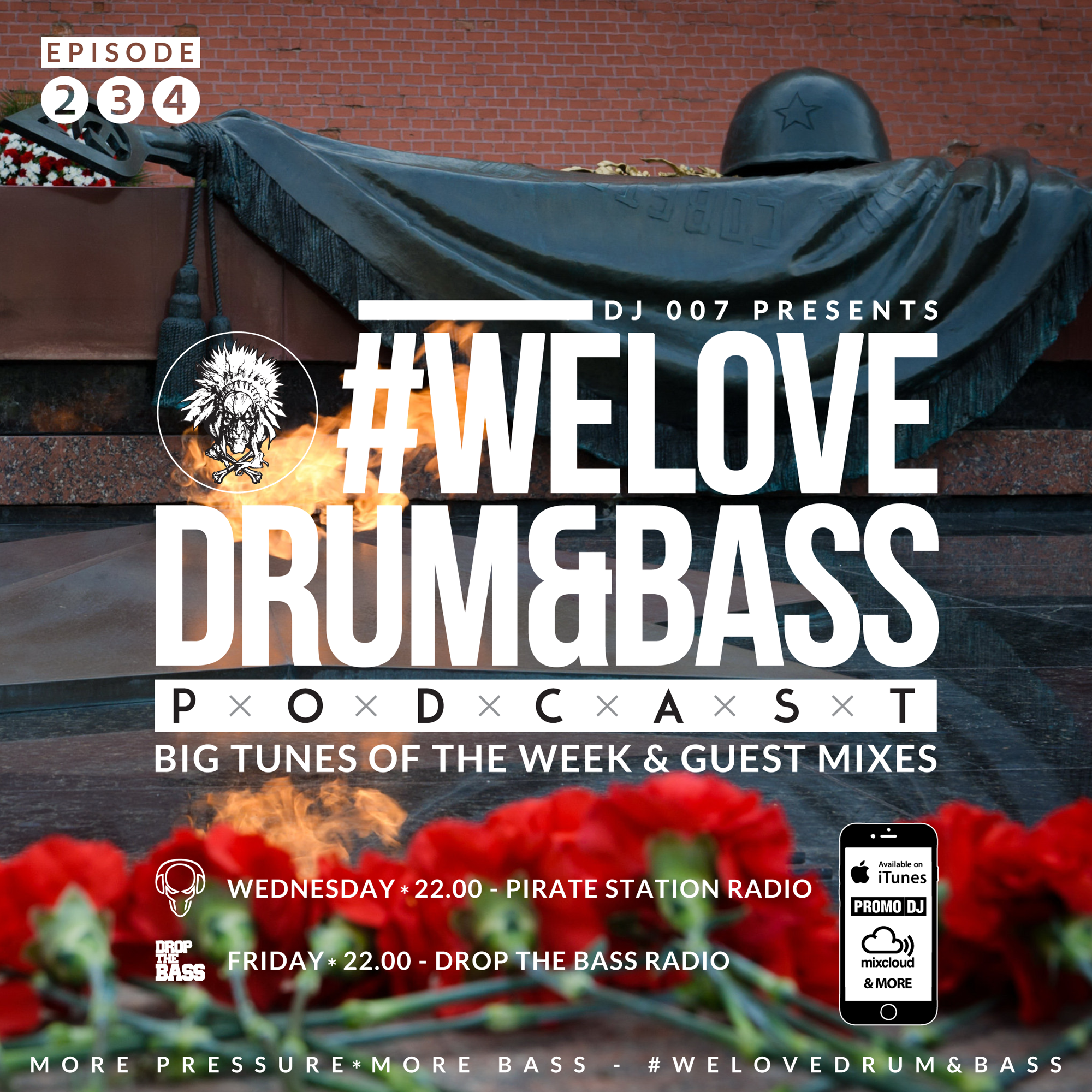 DJ Toper & DJ 007 Presents #WeLoveDrum&Bass Podcast #221