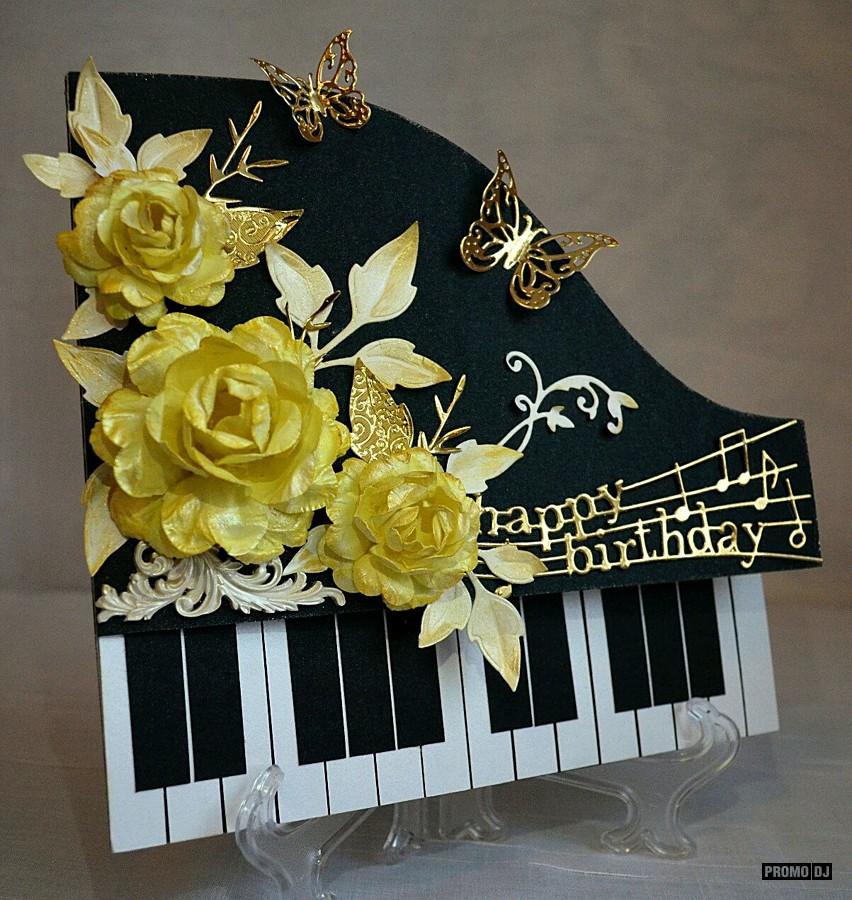Открытка в виде рояля своими руками, открытки смешные открытки