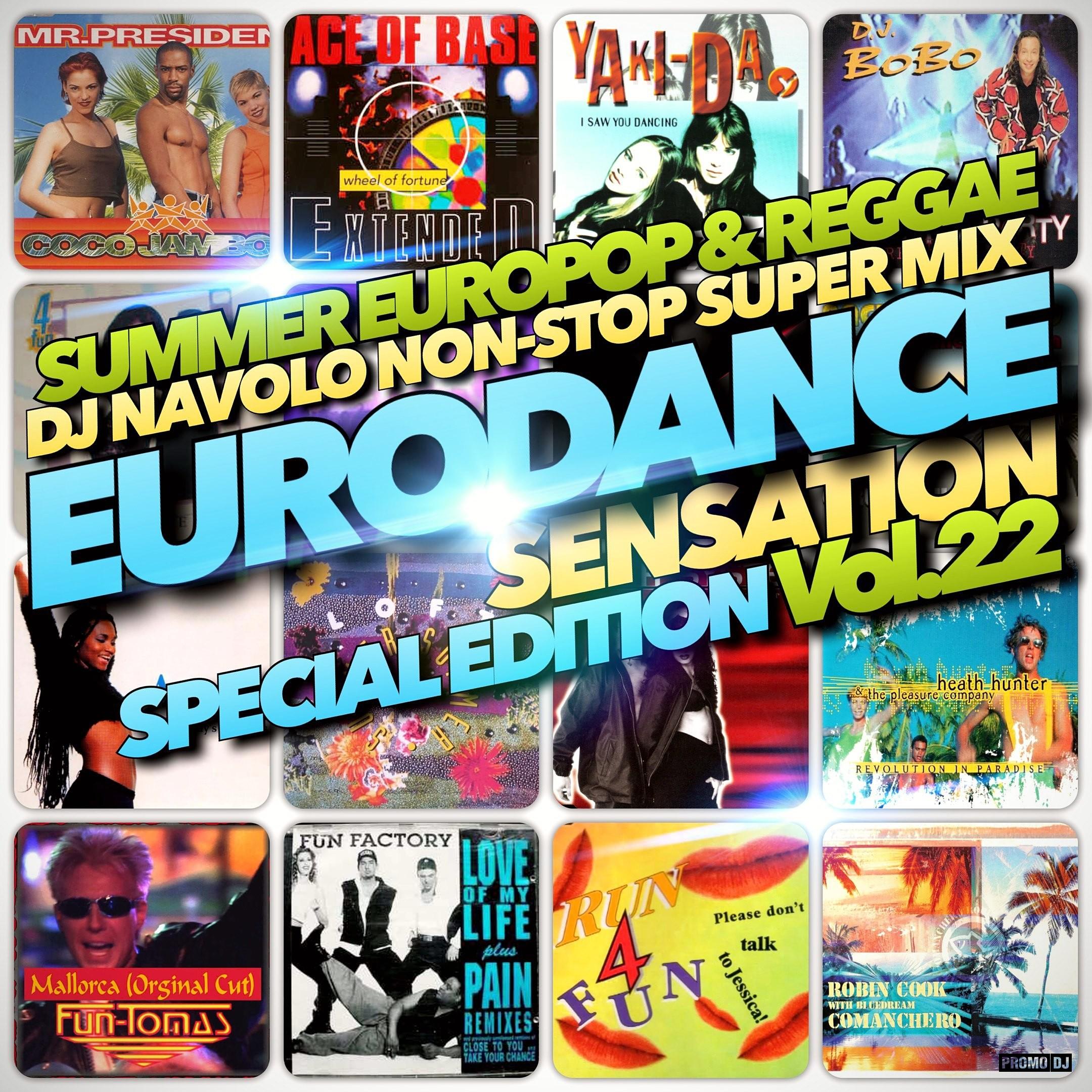Eurodance Sensation Vol 22 Dj Navolo Mix – Navolo Records