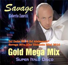 DJ Daks NN & DJ Aleksandr - Savage 80's (The Discotheque Mix